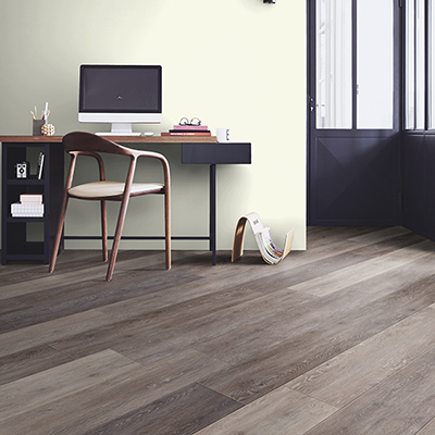 VERSBACH verlegt Designböden von Tarkett Designboden in Eiche Cerused Oak brown